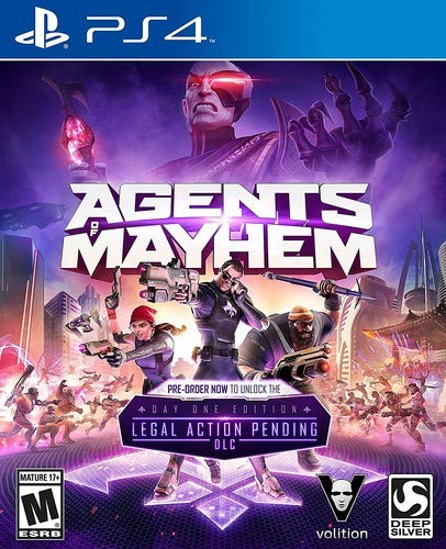 Agents of Mayhem - (PS4)