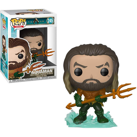 Aquaman Movie (2018) - Aquaman with Trident Pop Figure #245