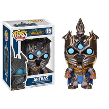 WORLD OF WARCRAFT ARTHAS VINYL FIGURE #15 FUNKO POP