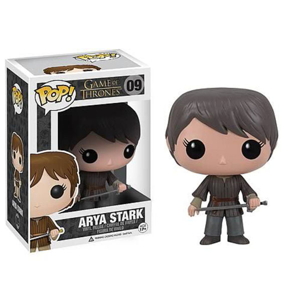 GAME OF THRONES ARYA STARK FUNKO POP! VINYL FIGURE #09