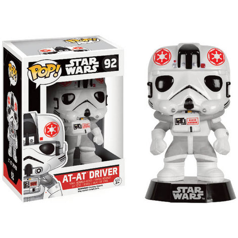 FUNKO POP! STAR WARS AT-AT DRIVER BOBBLE HEAD #92