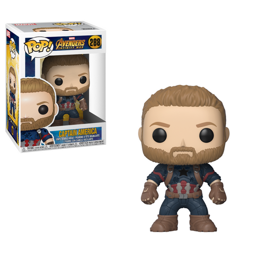 Infinity War Captain America Funko Pop! #288