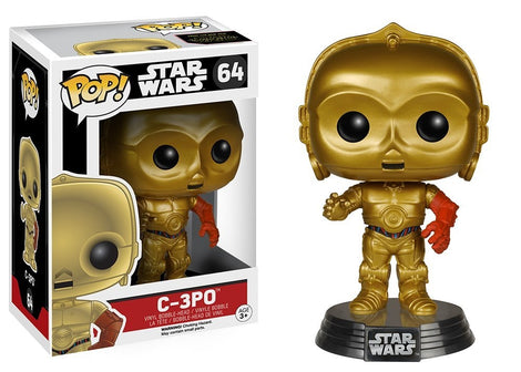 FUNKO POP STAR WARS - C-3PO BOBBLE HEAD#64