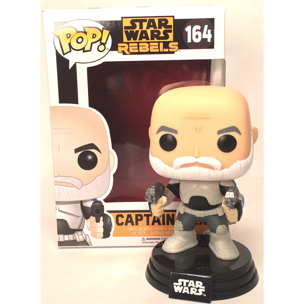 Captain Rex Star Wars Limited Edition FUNKO POP Vinyl Bobble Head (pop number 164)