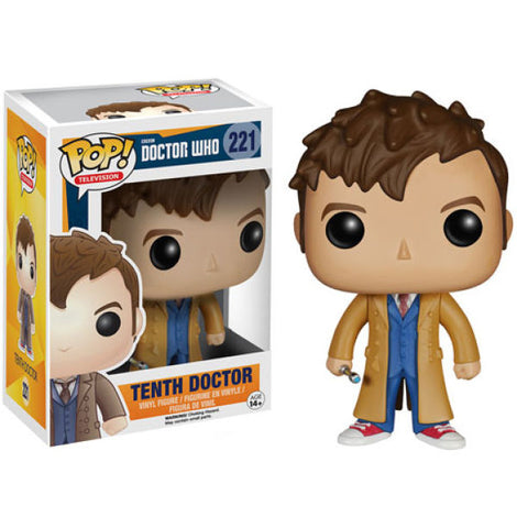 DOCTOR WHO 10TH DOCTOR FUNKO POP! VINYL FIGURE #221