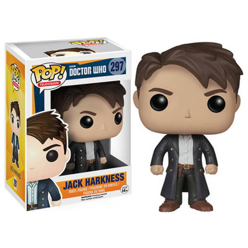 DOCTOR WHO JACK HARKNESS FUNKO POP! VINYL FIGURE #297