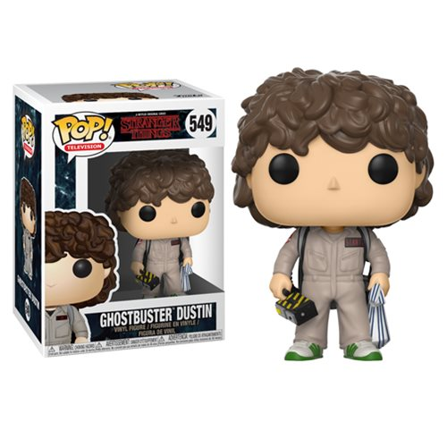 Stranger Things Ghostbusters Dustin Funko Pop! Vinyl Figure #549 [Coming January 2018]