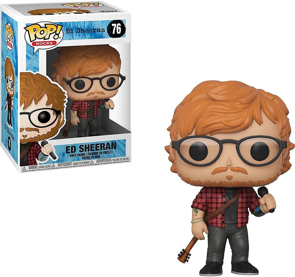 ED Sheeran Funko Pop #76