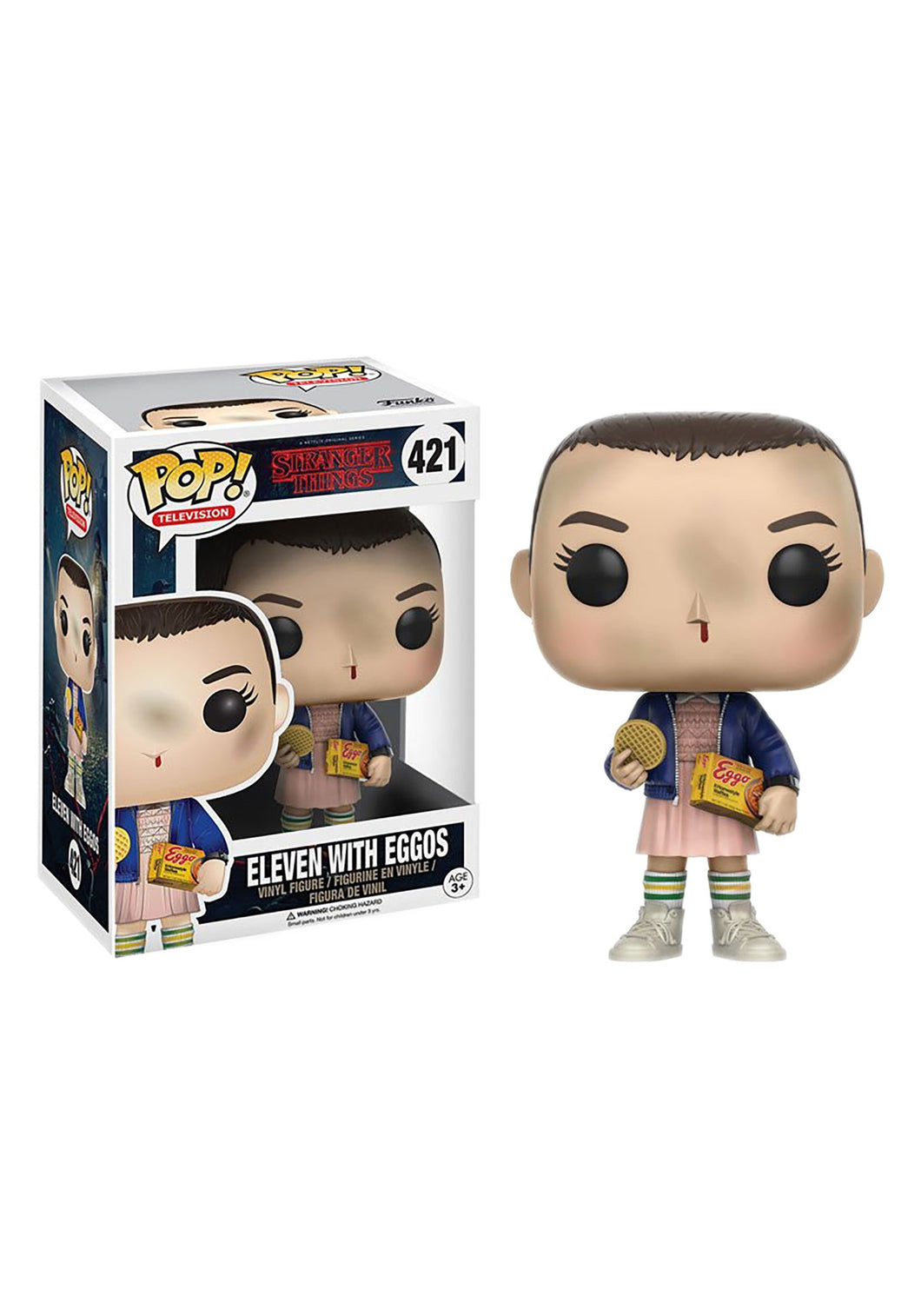 STRANGER THINGS ELEVEN WITH EGGOS FUNKO POP! VINYL FIGURE #421