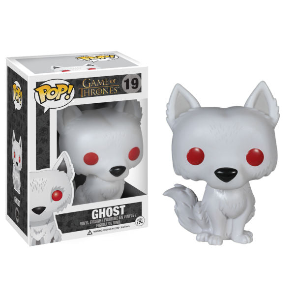 GAME OF THRONES GHOST FUNKO POP! VINYL FIGURE #19