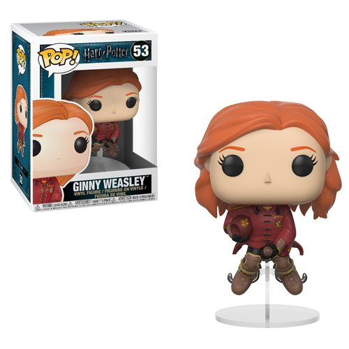 Harry Potter Ginny Weasley on Broom Pop! Vinyl Figure #53  [Coming February 2018]