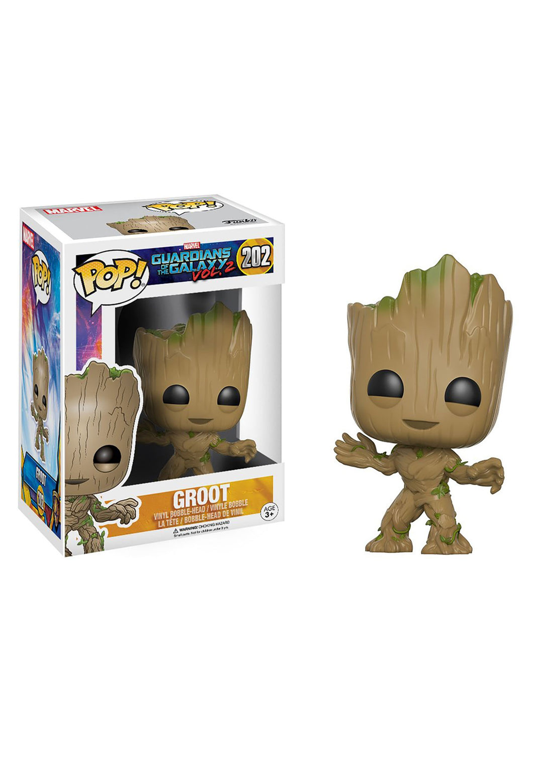 GUARDIANS OF THE GALAXY VOL. 2 GROOT FUNKO POP! VINYL FIGURE #202