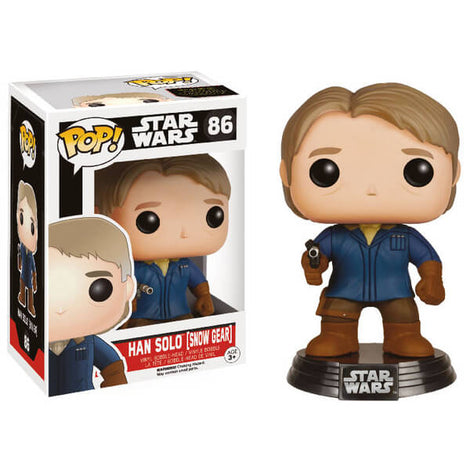 FUNKO POP! HAN SOLO STAR WARS BOBBLE HEAD #86