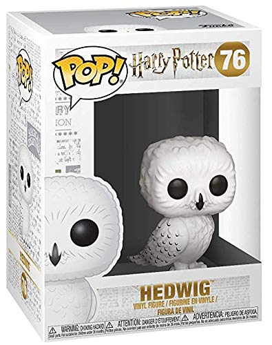 Hedwig (Flocked) - US Exclusive Harry Potter Funko Pop #76
