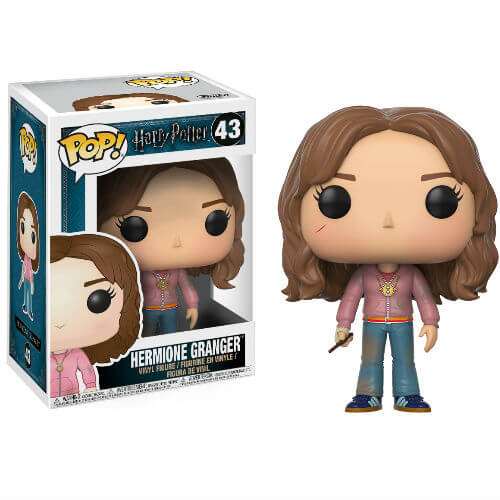 HARRY POTTER HERMIONE GRANGER WITH TIME TURNER FUNKO POP! VINYL FIGURE #43
