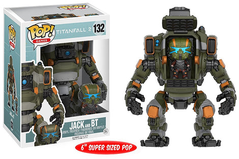 FUNKO POP! TITANFALL 2 JACK & BT POP! VINYL #132