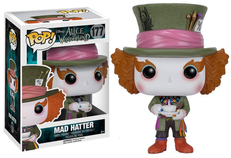 "Alice In Wonderland ""Mad Hatter"" Funko Pop #177"