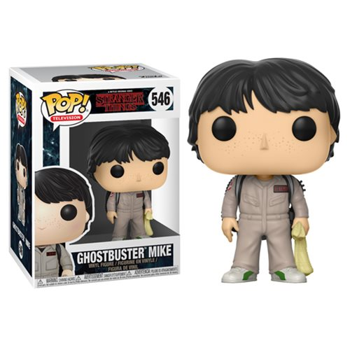Stranger Things Ghostbusters Mike Funko Pop! Vinyl Figure #546  [Coming January 2018]