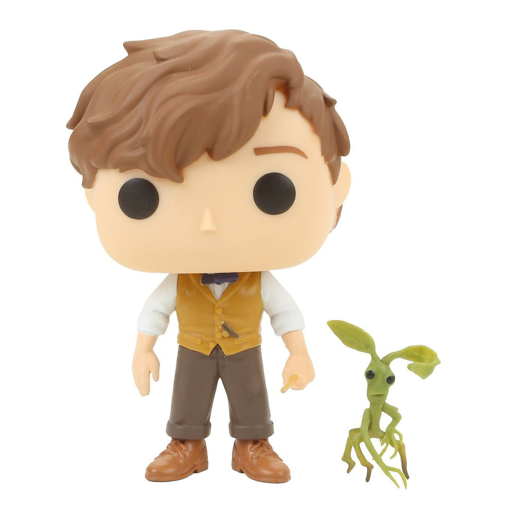 FANTASTIC BEASTS AND WHERE TO FIND THEM NEWT SCAMANDER WITH PICKETT FUNKO POP! VINYL FIGURE #10