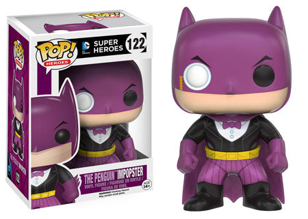 FUNKO POP! BATMAN PENGIUN IMPOSTER EXCLUSIVE FIGURE #122