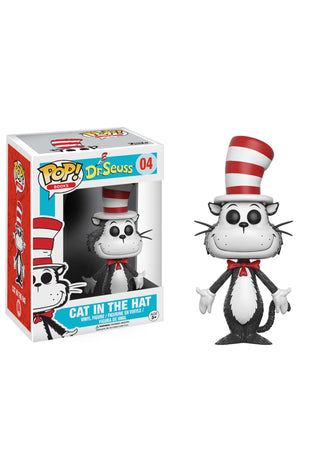 FUNKO POP BOOKS: DR. SEUSS - CAT IN THE HAT VINYL FIGURE #04