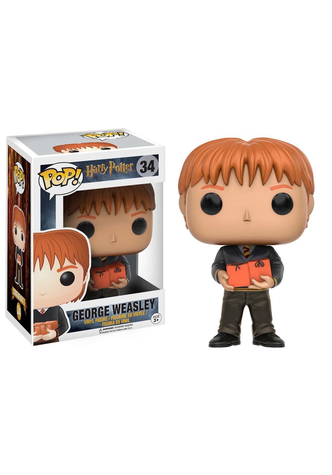 HARRY POTTER GEORGE WEASLEY FUNKO POP! VINYL FIGURE #34