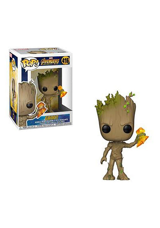 Groot with Stormbreaker- Avengers 3: Infinity War Funko Pop #416