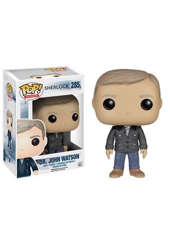 SHERLOCK JOHN WATSON FUNKO POP! VINYL FIGURE #285 [Box Damaged]