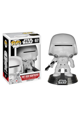FUNKO POP! STAR WARS E7 FIRST ORDER SNOWTROOPER BOBBLEHEAD FIGURE #67