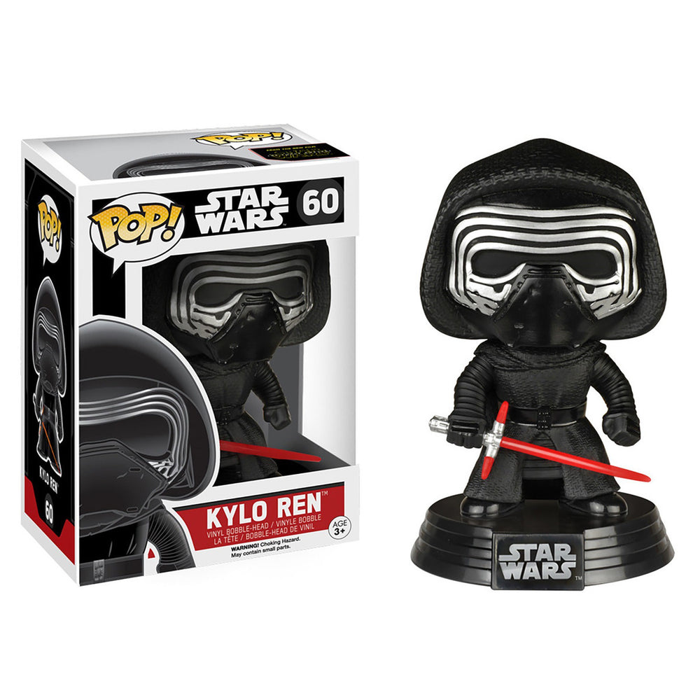 FUNKO POP! STAR WARS E7 KYLO REN BOBBLEHEAD FIGURE #60
