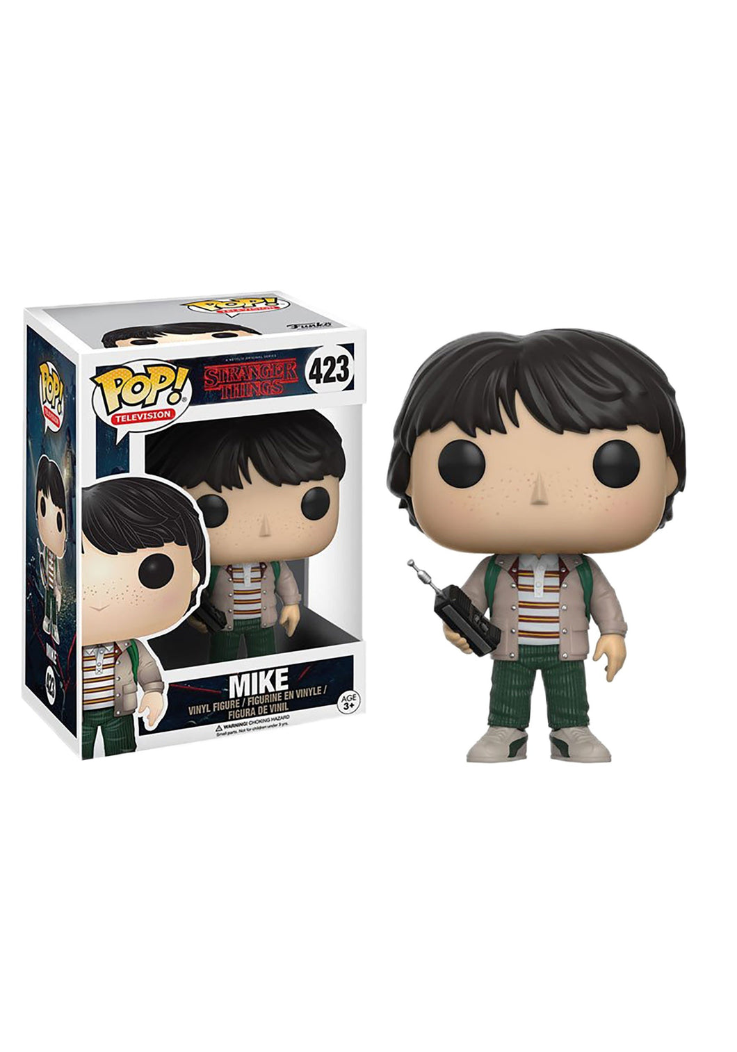 STRANGER THINGS MIKE WITH WALKIE TALKIE FUNKO POP! VINYL FIGURE #423