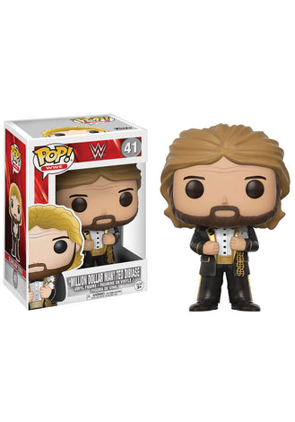 WWE MILLION DOLLAR MAN OLD SCHOOL FUNKO POP! VINYL FIGURE #41