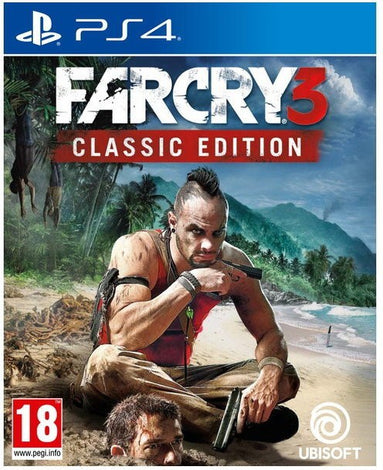 FAR CRY 3 CLASSIC EDITION (PS4)  (CLASSIC EDITION, for PS4)