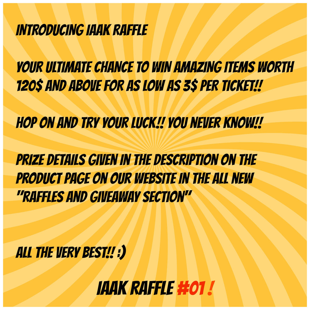 Iaak Raffle Lot #01 - Choose various Funko's of Choice from store, SDCC, Exclusives, Limited Edition Mystery Boxes + More!