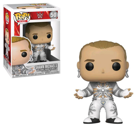 WWE Shawn Michaels (Wrestle Mania 12) Funko Pop! Vinyl #50