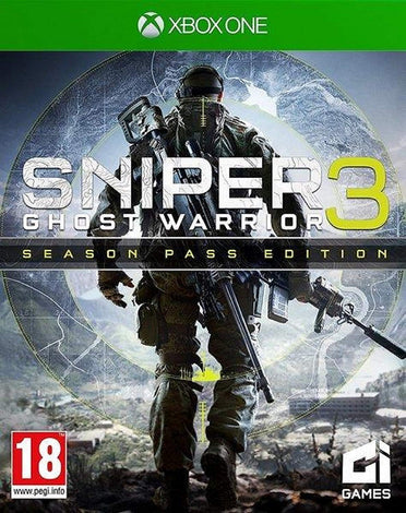 Sniper Ghost Warrior 3 - Season Pass Edition (Xbox One)