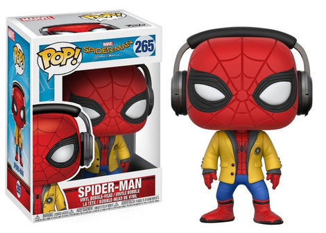 Spider Man with Headphone Funko pop - #265