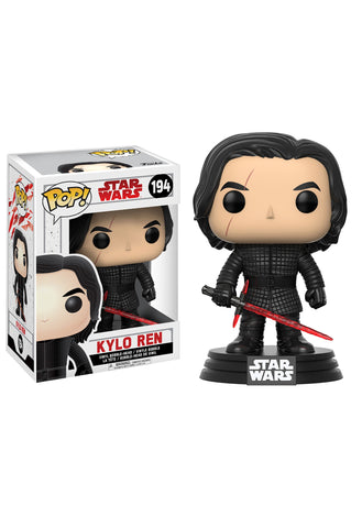 STAR WARS THE LAST JEDI KYLO REN BOBBLEHEAD FUNKO POP! VINYL FIGURE #194
