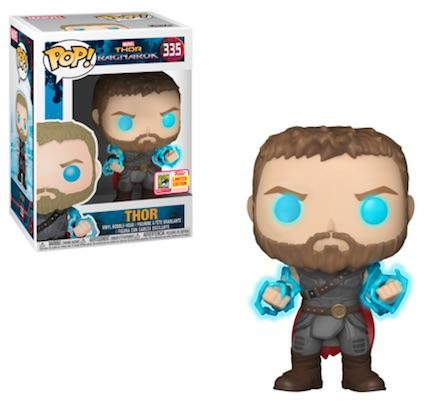 SDCC Exclusive Limited Edition - Thor with Odin Force Funko Pop Figure #335