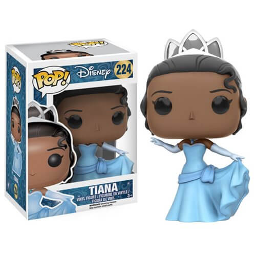 POP! DISNEY TIANA FUNKO POP VINYL FIGURE #224 [Box Damaged]