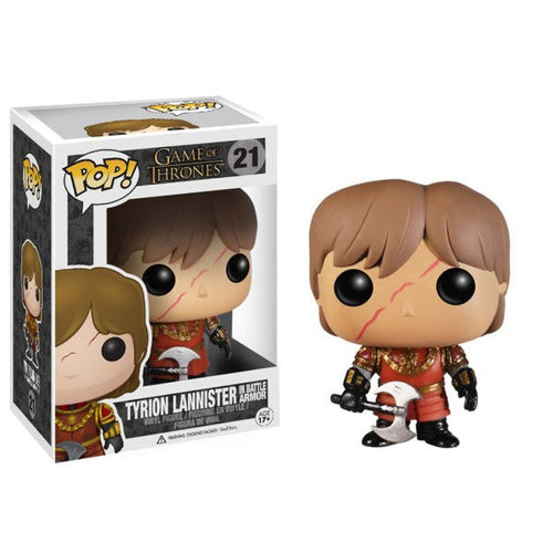 GAME OF THRONES BATTLE ARMOUR TYRION LANNISTER FUNKO POP! VINYL FIGURE #21