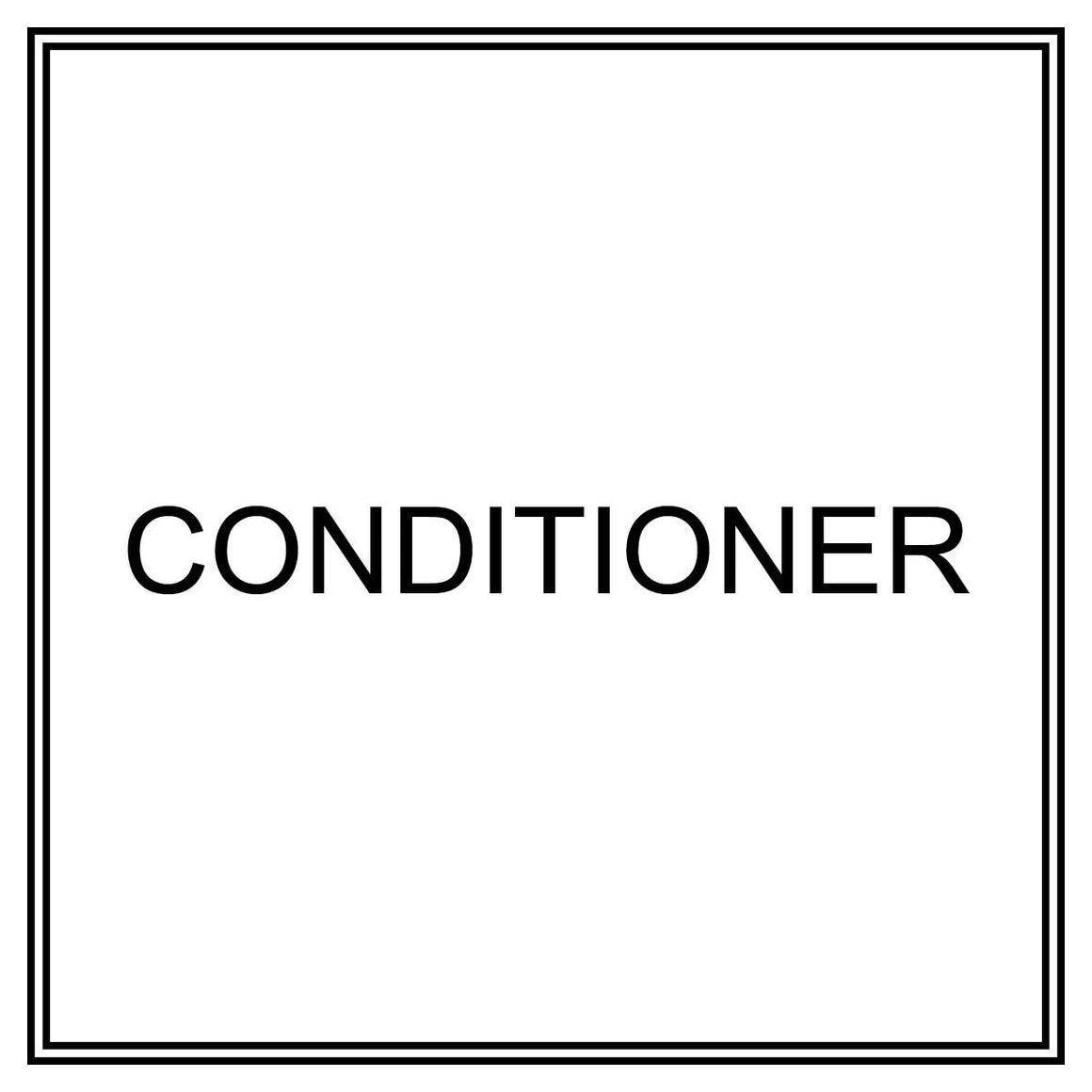 Label - Conditioner
