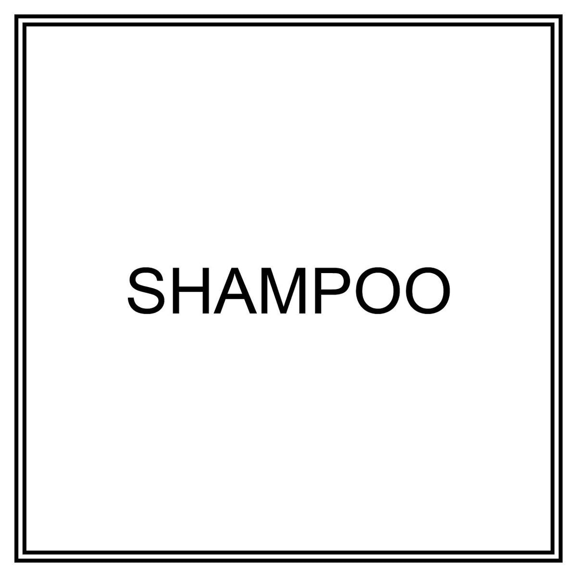 Label - Shampoo