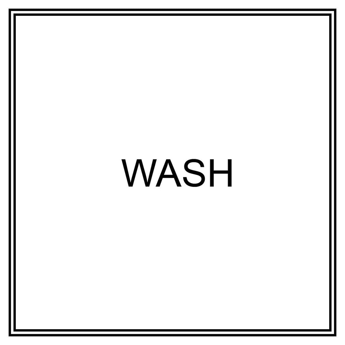 Label - Wash