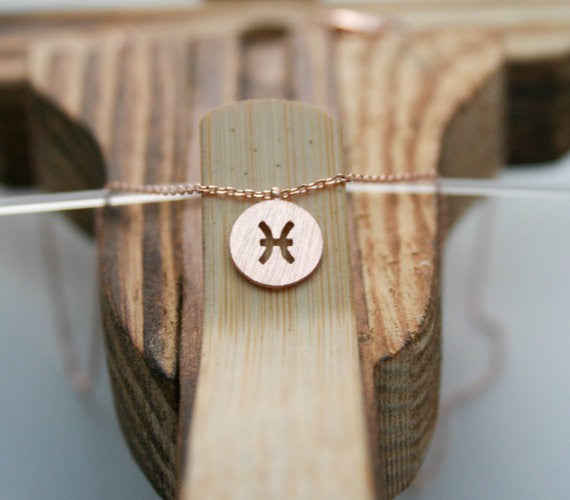 Zodiacal Pisces Necklace