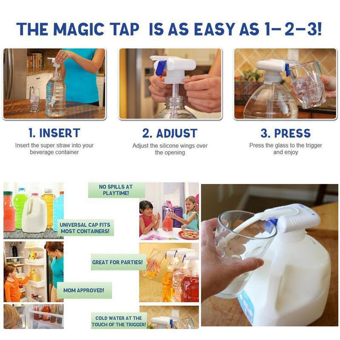 Magic Dispensing Tap