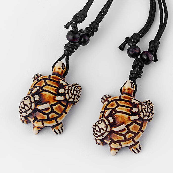 Turtle Necklaces Set of 8
