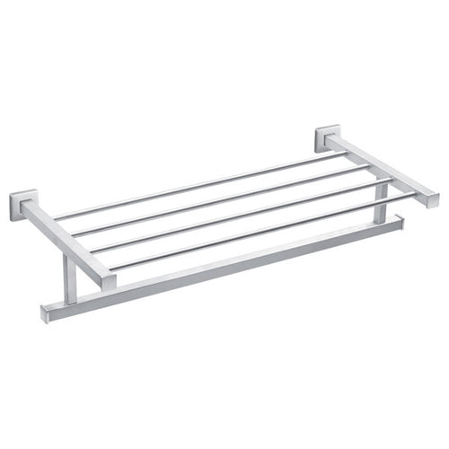 Lotus Four Rail Towel Rack (with Underhang)