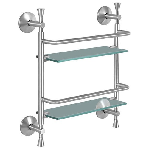 Siroi Lily Twin Shower Glass Shelves