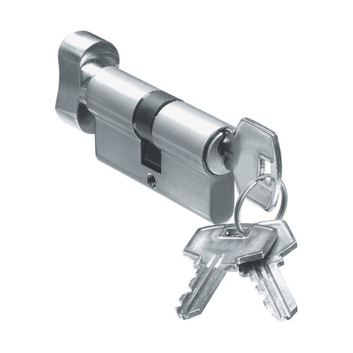 Crono Euro Cylinder Lock - Key and Knob